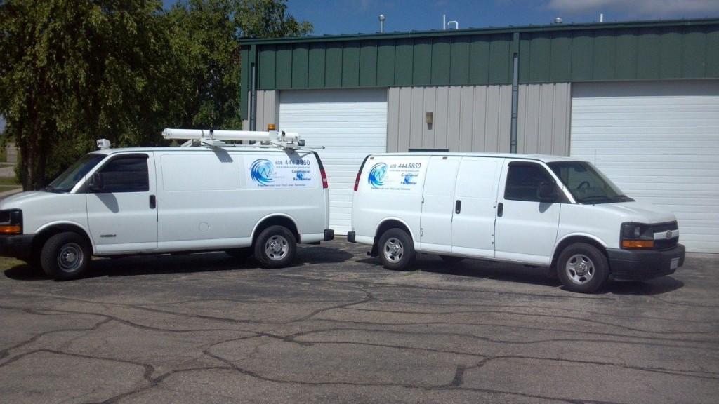 Pool Service Vans